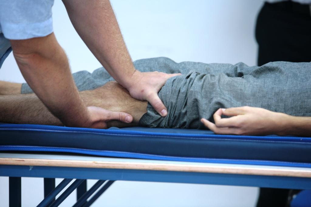 טכניקה על הפלג גוף תחתון