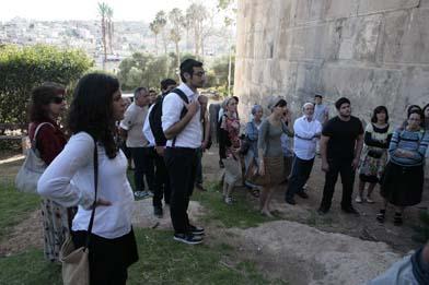 visite du caveau des patriarches